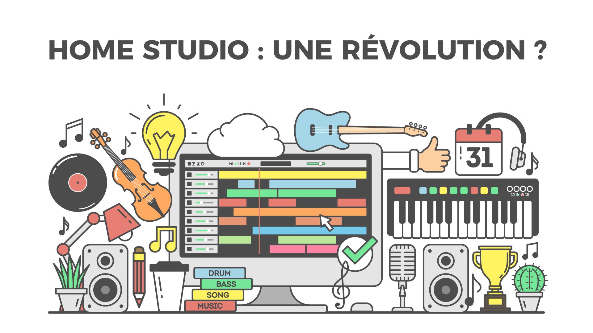 La révolution du home studio dans la composition musicale